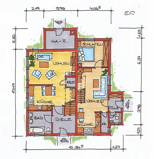 Traumhaus grundriss  TRAUMHAUS BAUEN, Ein- und Mehrfamilienhäuser in individueller ...